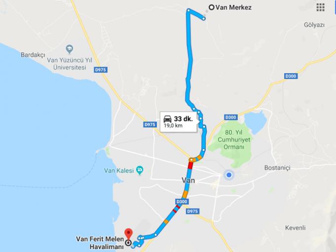 Van Ferit Melen Havalimanı Nerede, Nasıl Gidilir?