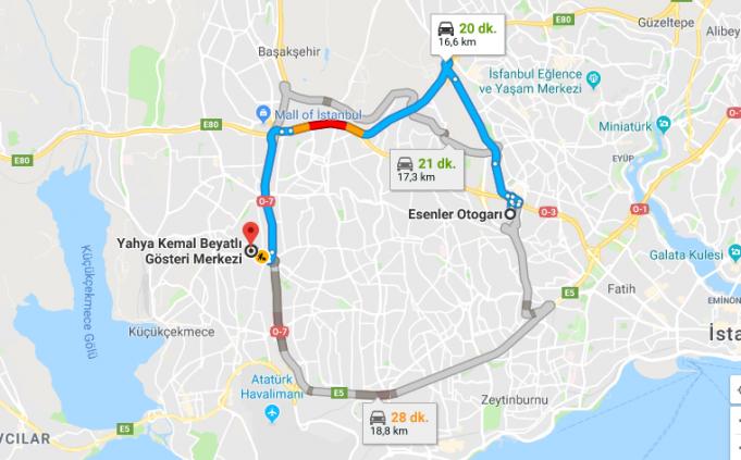 Yahya Kemal Beyatlı Gösteri Merkezi Nerede, Nasıl Gidilir?