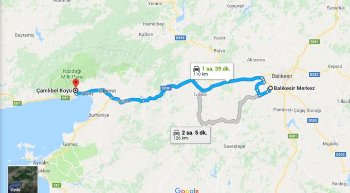 Çamlıbel Köyü Nerede, Nasıl Gidilir?