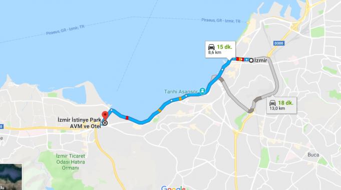 İzmir İstinye Park AVM Nerede ve Nasıl Gidilir?