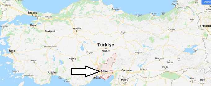 Adana Nerede, Hangi Bölgede ve Nüfusu