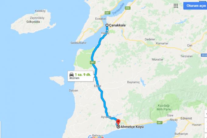 Ahmetçe Köyü Nerede, Nasıl Gidilir?