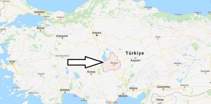 Aksaray Nerede, Hangi Bölgede ve Nüfusu