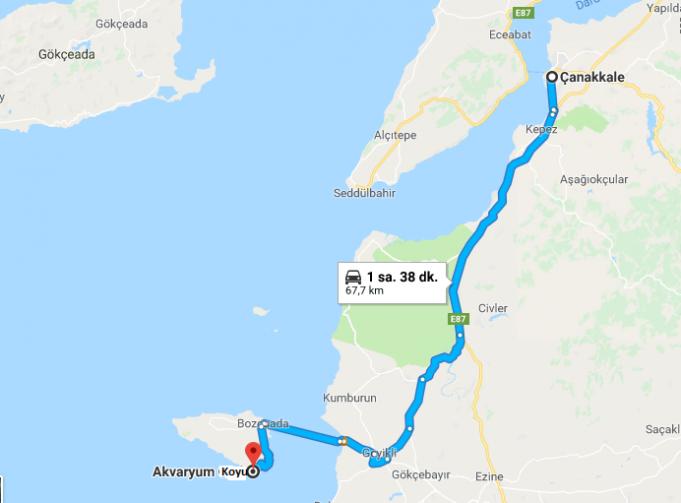 Bozcaada Akvaryum Koyu Nerede, Nasıl Gidilir?