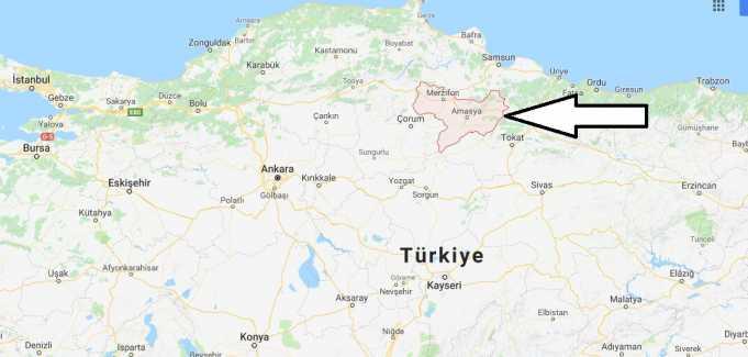 Amasya Nerede, Hangi Bölgede ve Nüfusu