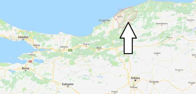 Bartın Nerede, Hangi Bölgede ve Nüfusu