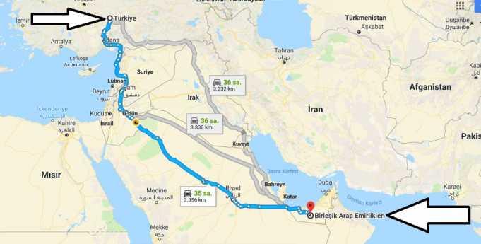 Birleşik Arap Emirlikleri Gezilecek Yerler