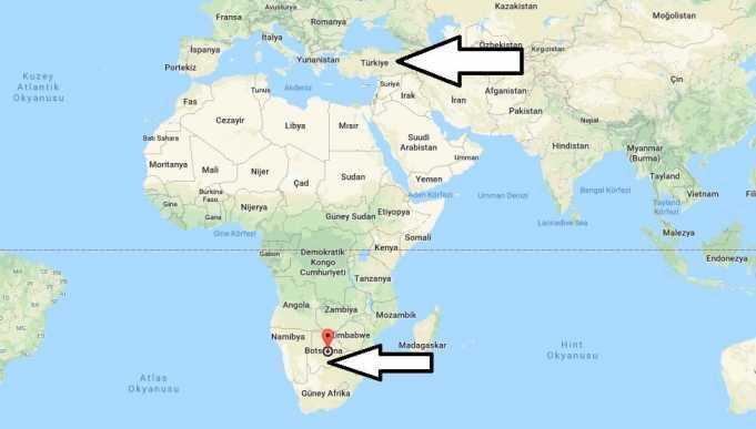 Botsvana Gezilecek Yerler
