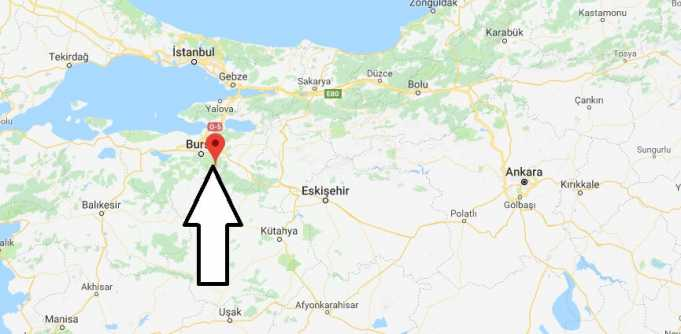 Bursa Nerede, Hangi Bölgede ve Nüfusu