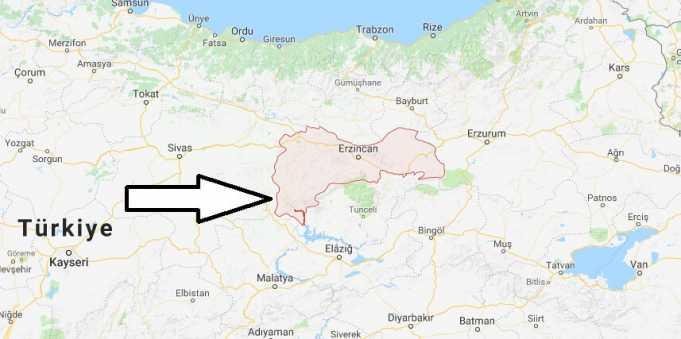 Erzincan Nerede, Hangi Bölgede ve Nüfusu