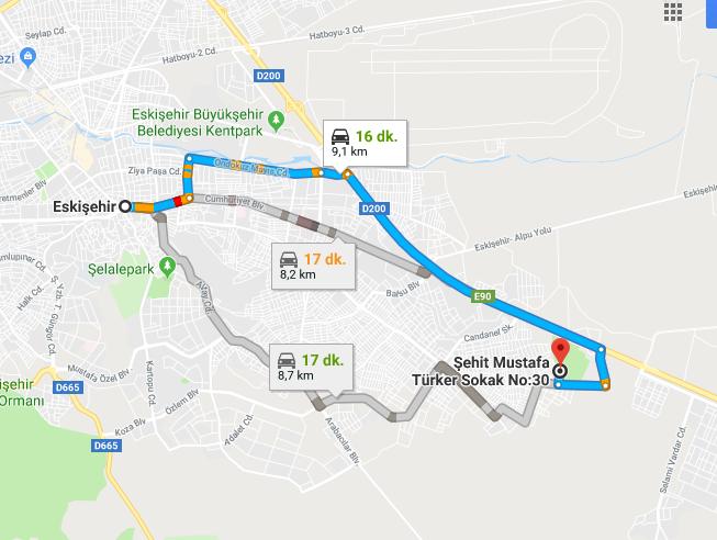 Eskişehir Şehir Hastanesi Nerede, Nasıl Gidilir?