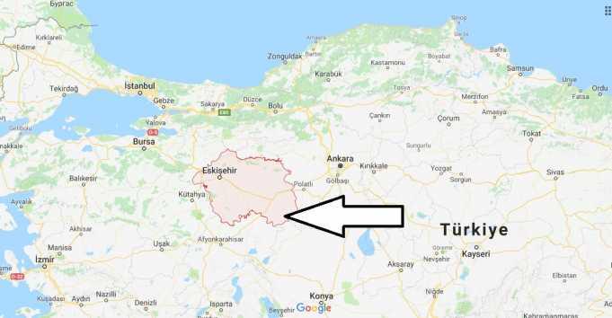 Eskişehir Nerede, Hangi Bölgede ve Nüfusu