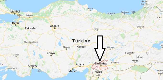 Gaziantep Nerede, Hangi Bölgede ve Nüfusu
