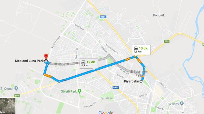 Medland Luna Park Nerede, Nasıl Gidilir?