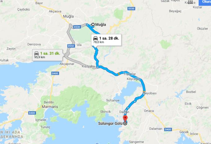 Sülüngür Gölü Nerede, Nasıl Gidilir