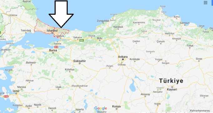 İstanbul Hangi Bölgede, Hangi Kıtada ve Nüfusu