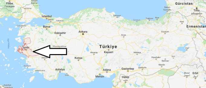 İzmir Nerede, Hangi Bölgede ve Nüfusu