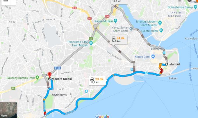 Şehir Macera Parkı Nerede, Nasıl Gidilir?
