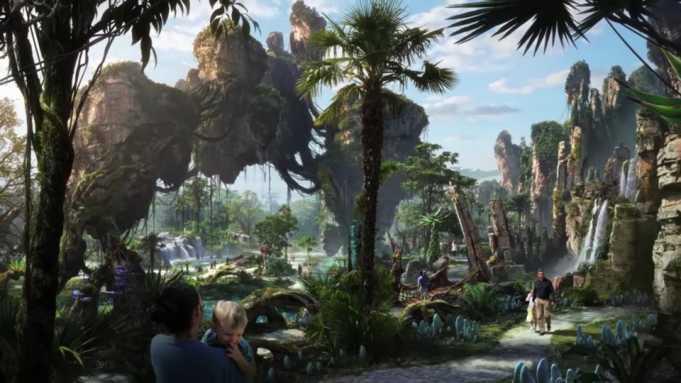 'Avatar' temalı Pandora Parkı