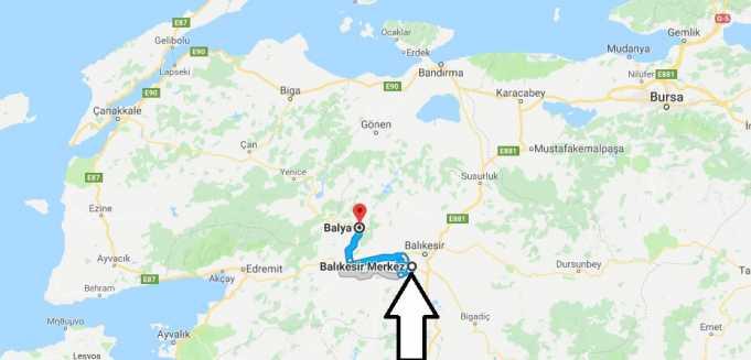 Balya Nerede, Nerenin İlçesi ve Hangi Bölgede Şehirde