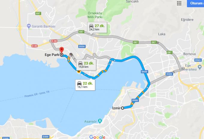 Ege Park Mavişehir Avm Nerede, Nasıl Gidilir?