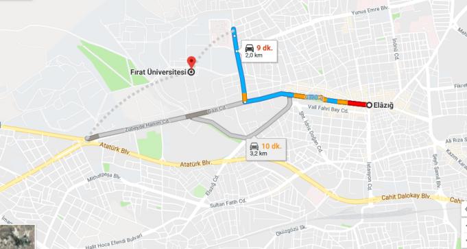 Fırat Üniversitesi Nerede, Nasıl Gidilir ve Hangi Şehirde?
