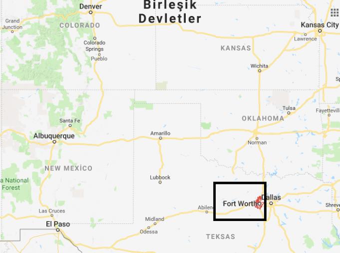 Fort Worth Nerede, Hangi Ülkede?