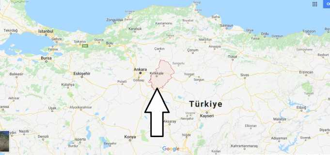Kırıkkale Nerede, Hangi Bölgede ve Nüfusu