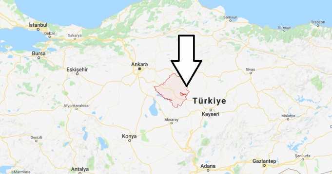 Kırşehir Nerede, Hangi Bölgede ve Nüfusu