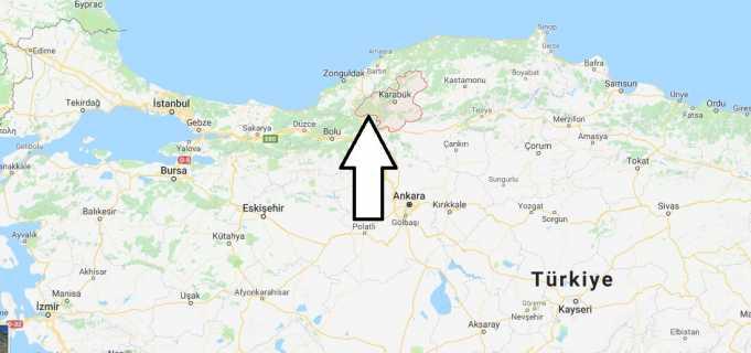 Karabük Nerede, Hangi Bölgede ve Nüfusu