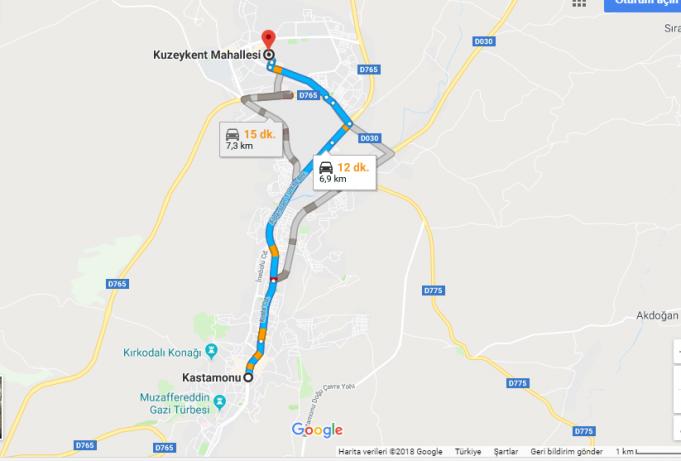 Kastamonu Üniversitesi Nerede, Nasıl Gidilir?