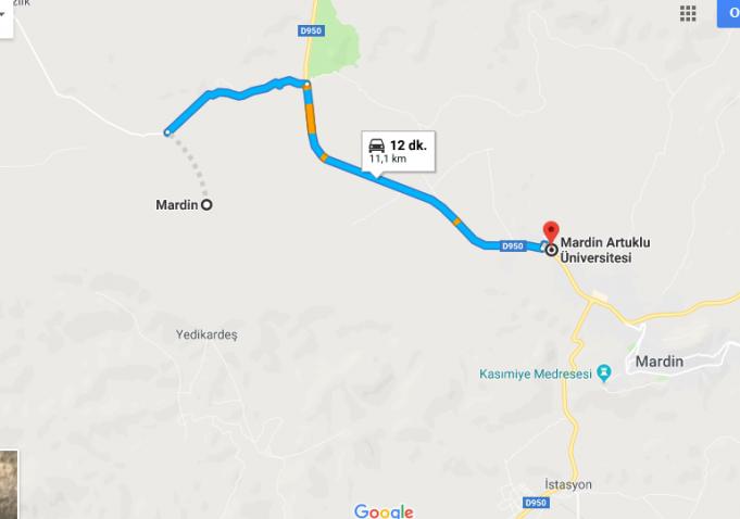Mardin Artuklu Üniversitesi Nerede, Nasıl Gidilir?