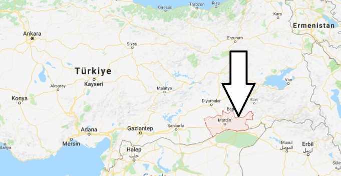 Mardin Nerede, Hangi Bölgede ve Nüfusu