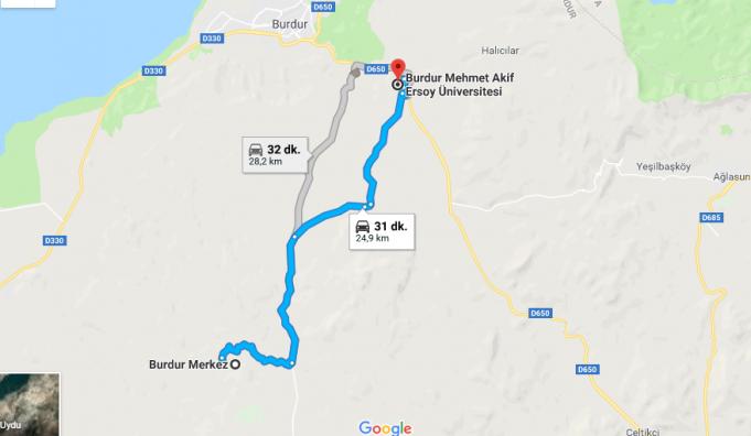 Mehmet Akif Ersoy Üniversitesi Nerede, Nasıl Gidilir ve Hangi Şehirde?