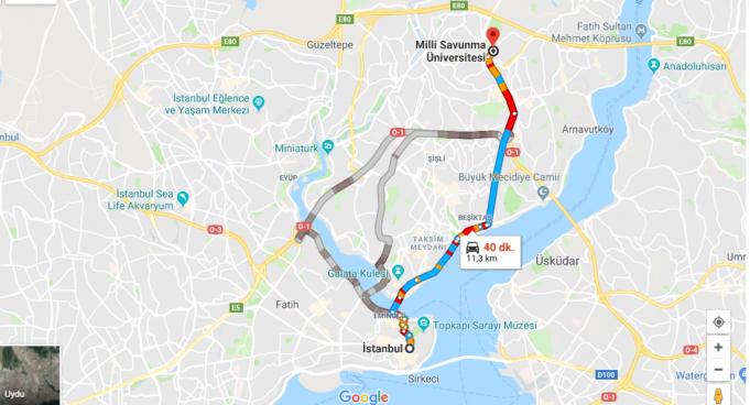 Millî Savunma Üniversitesi Nerede, Nasıl Gidilir ve Hangi Şehirde?