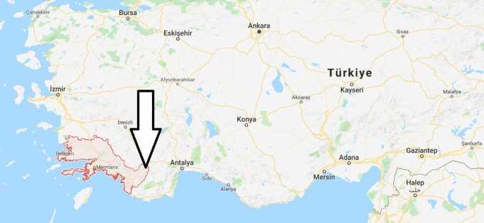 Muğla Nerede, Hangi Bölgede ve Nüfusu