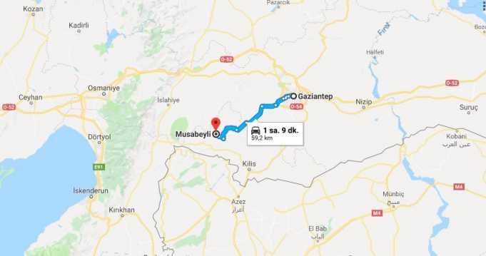 Musabeyli Nerede, Nerenin İlçesi ve Hangi Bölgede Şehirde