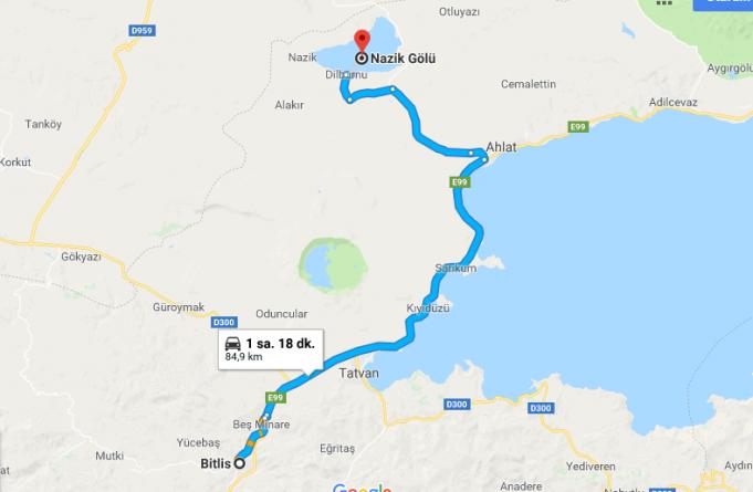 Nazik Gölü Nerede, Nasıl Gidilir?