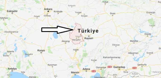 Nevşehir Nerede, Hangi Bölgede ve Nüfusu