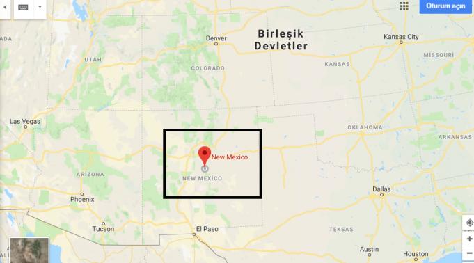 New Mexico Nerede, Hangi Ülkede?