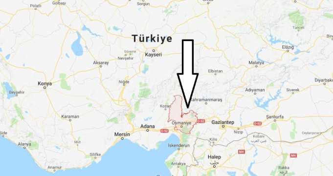 Osmaniye Nerede, Hangi Bölgede ve Nüfusu