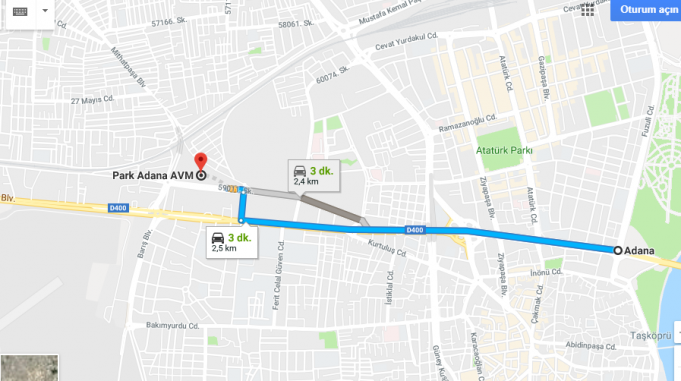 Park Adana Avm Nerede, Nasıl Gidilir?