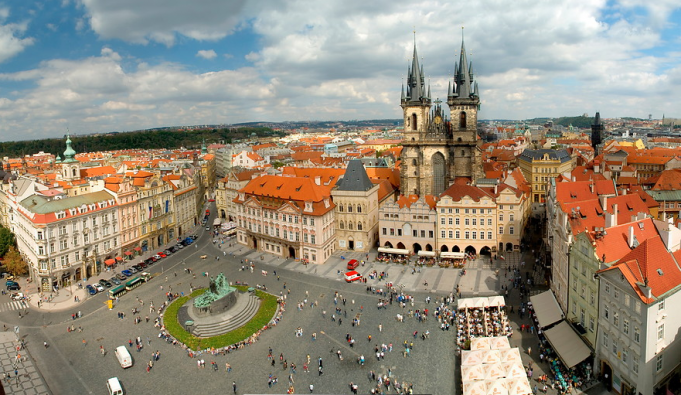 Prag Eski Kent Meydanı(Old Town Square)