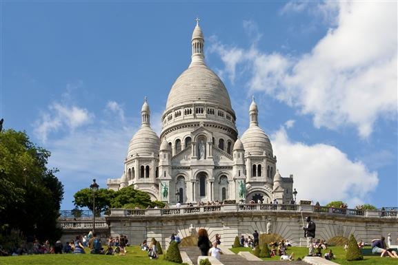 Sacred Heart Basilica of Montmartre(Sacre Coeur Bazilikası)