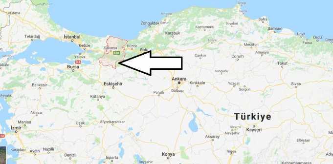 Sakarya Nerede, Hangi Bölgede ve Nüfusu