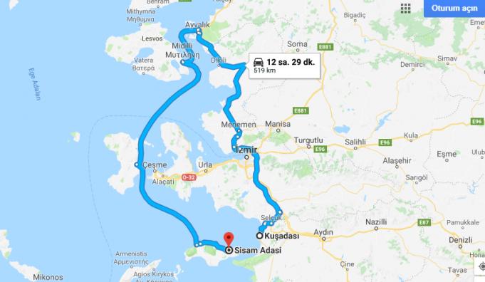 Samos Adası Nerede, Nasıl Gidilir?