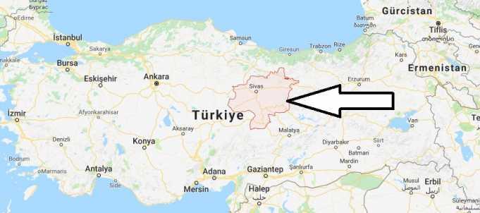 Sivas Nerede, Hangi Bölgede ve Nüfusu