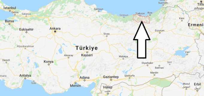Trabzon Hangi Bölgede,Nereye Bağlı ve Nüfusu