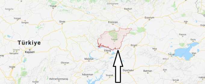 Tunceli Nerede, Hangi Bölgede ve Nüfusu