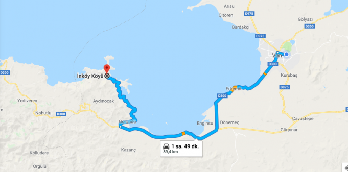 Van İnköy Nerede, Nasıl Gidilir, Kamp Alanı